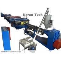 China PVC Sheet Extrusion Line / PE/PP/PC Hollow Sheet Production Line wholesale