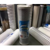 China 10 1 Micron Drinking Water Filter Cartridges with CTO Activated Carbon / Coconut Carbon Block wholesale