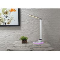 China Decorated Bedside Led Sensor Wireless Charging Lamp With Rgb Colorful Nightlight wholesale