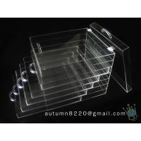 Quality BO (114) clear acrylic jersey display case for sale