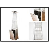 China Square Flame Stand Up Outdoor Heater For Covered Porch High Efficiency on sale