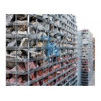 China Anti Corrosion Wire Mesh Steel Gabion Baskets For Highways Laying Down wholesale