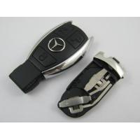 Quality Benz 3 Button Smart Auto Key Shell, Board Plastic Car Key Blanks / Case for sale
