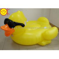 Buy cheap GAME Derby Duck Inflatable Swimming Pool Float with Cup Holders and Handles For Kids & Adults product