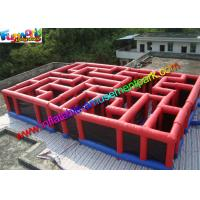 China Funny Inflatable Sports Games Laser Tag Air Inflatable Maze Durable wholesale