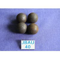 China Mines D40mm / 50mm  Hot Rolling Steel Balls Surface hardness  62-64hrc  Grinding Media wholesale