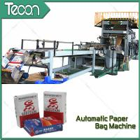China High Speed Automatic Chemical Kraft Paper Cement Bag Making Machine wholesale