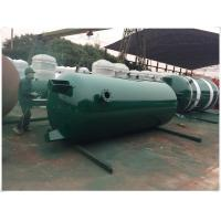 China Large Volume Compressed Air Storage Tank , 8 Bar - 40 Bar Portable Air Compressor Tank wholesale