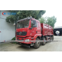 China China Famous Brand Shacman 8X4 20cbm Heavy Duty Fracturing Sand Tanker Truck wholesale