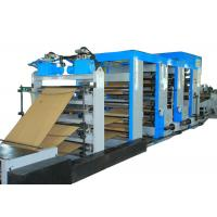 China Energy Saving Cement Paper Bag Making Machine Flexo Printing High Output wholesale
