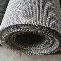 China End Finish Type Crimped Wire Cloth Galvanized Customized Size With Sleeve Edges wholesale