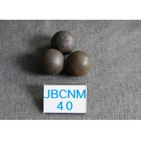 Quality 62-63HRC Grinding-Resisting Hot Rolled Grinding Steel Balls for Ball Mill , Wear-Resistance for sale