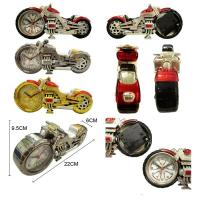 China motor shape quartz clock for promotional gift wholesale