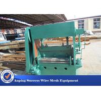 China Sheet Mesh Expanded Metal Machine Equipment For Steel Sheet Electric System wholesale