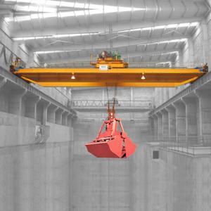 China 36 Ton 103 Ton Bridge Overhead Crane / Electric Double Beam Garbage Crane on sale