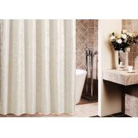 China Printed Thickening Waterproof Shower Curtain , Plated Style Modern Shower Curtains wholesale