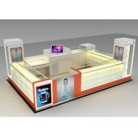 China Modern Style Mobile Cell Phone Accessories Kiosk With Fully - Enclosed Structure wholesale