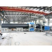 China High output Pipe Production Line For Winding Double Wall Pipes wholesale