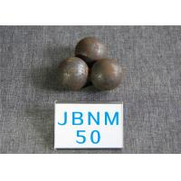 China High Surface Hardness 62-63HRC Hot Rolled Grinding Balls for Mining / Steel Balls for Ball Mill , Grinding Resistant wholesale