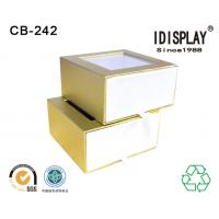 China Pvc Window Custom Printed Decorative Small Cardboard Gift Boxes Packing Candy Chocolate on sale