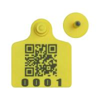 RFID cattle ear tag,UHF ear tag,barcode ear tag,cow ear tag,laser printing ear for sale