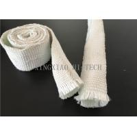 China Expandable Fiberglass Braided Heat Insulation Sleeve / Sleeving High Intensity wholesale