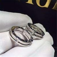 Quality Bvlgari diamonds of couple ring 18kt  gold  with white gold or yellow gold for sale