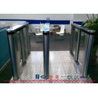 Entry Control Speed Gate Turnstile , Luxury Speed Stainless Steel Barrier Gate
