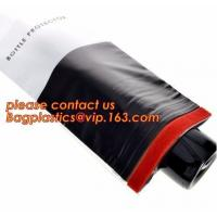 China OEM Biodegradable Mailing Bags Zipped Bottom Bottle Wrap Sleeves Air Wine Slip on sale