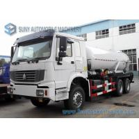 Buy cheap 18000L Vacuum Tanker street cleaning vehicles 6x4 HOWO RHD Sewage Suction Truck from wholesalers