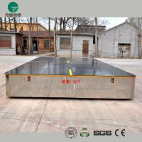 China Battery operated steerable motorized trackless transfer car on cement floor wholesale
