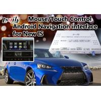 China Two in One Android 6.0 Lexus Video Interface for IS Support WIFI / Mirrorlink / Google Play wholesale