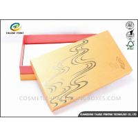 China Bright Colored Cardboard Gift Boxes Matt Laminated Finishing 25x15x3cm Dimension wholesale