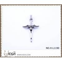 China Hot sell 316 Stainless Steel Cross Pendant H-L1190 wholesale