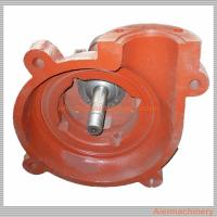 China Iron Mining Slurry Pump / Rubber Impeller Pump Parts Of Centrifugal Pump Multi Function wholesale