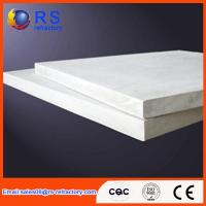 China Refractory Ceramic fiber board for industrial kiln / furnace , White Color wholesale