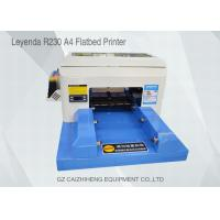 China High - Tech Eco Solvent Small Flatbed Inkjet Printer A4 Computer Operation wholesale
