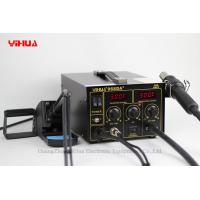 China Hot Air Repair Rework Station With Digital SMD Soldering Iron Tip on sale