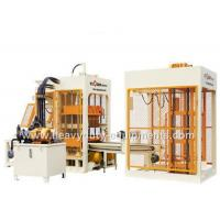 China 7.5 Ton Automatic Block Making Machine , 6 Pieces Per Mould Brick Forming Machine wholesale