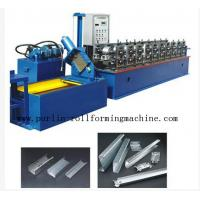 China 20 Forming Stations In Automatic C - Z Changeable Purlin Roll Former 10Mpa - 12Mpa wholesale