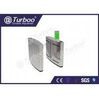 China Anti - Temperature Flap Barrier Turnstile With Automatic Reset Function wholesale