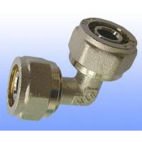 China compression brass fitting reduce elbow for PEX-AL-PEX wholesale
