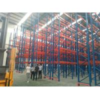 China Cold Roll Steel Pallet Storage Racks For Industrial Storage Goods 3 Years Guarantee wholesale