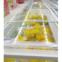 China Kitchen Supermarket Open Top Island Freezer 1000L With Double Island wholesale