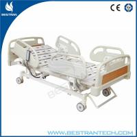 China Wired Control Electric Bed , Electric Hospital Beds Central - Locking At Foot Side on sale