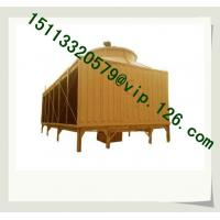 China CE Certification Industrial Square FRP Water 50T-100T Cooling Tower wholesale