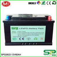 China Large capacity and high energy battery pack 12v 60Ah Lifepo4 Battery Pack Lithium Battery 12v 60Ah Replace Lead Acid on sale