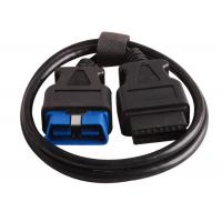 China 16 Pin Obd2 Connector Cable BMW Diagnostic Tool Copper Black / White Color wholesale