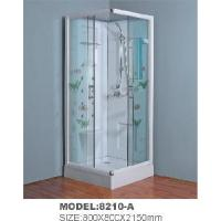 China Square Inside Sliding Door Shower Room with Applique Glass 8210-a wholesale