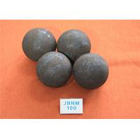 China High Performance D 100mm Grinding Steel Balls High Density and High Precision wholesale